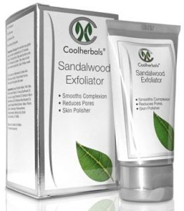 Skincare products containing Turmeric - Coolherbals Sandalwood Exfoliator