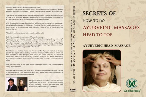 Head and Shoulder Massage DVD Cover