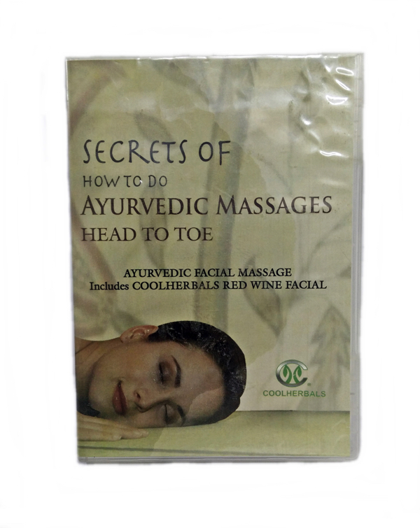 Facial Red Wine Massage DVD