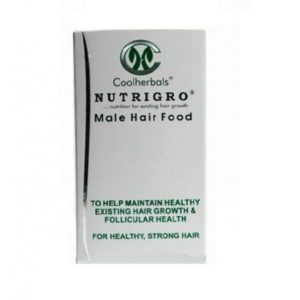 Nutrigro Male Hair Food - 60 Capsules. Natural supplement