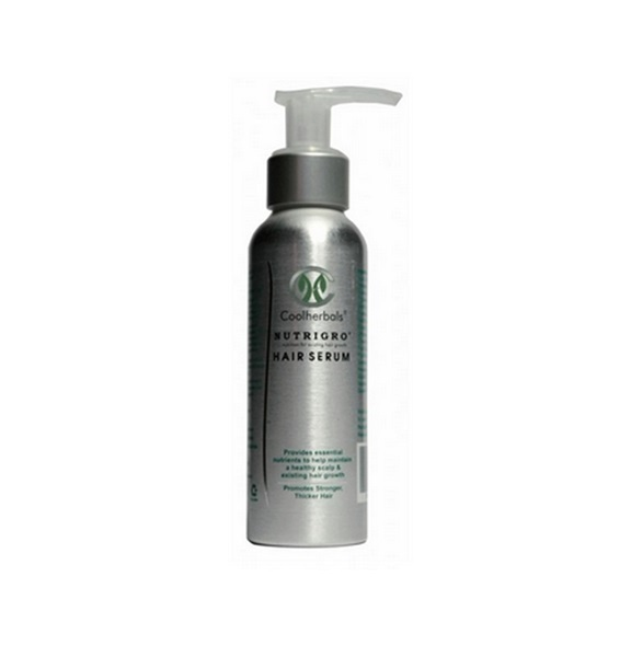 Nutrigro Hair Serum is designed to be used daily on the scalp.