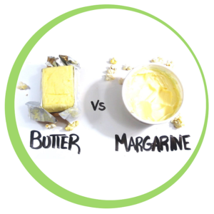 What is better- butter or margarine? Find your answer
