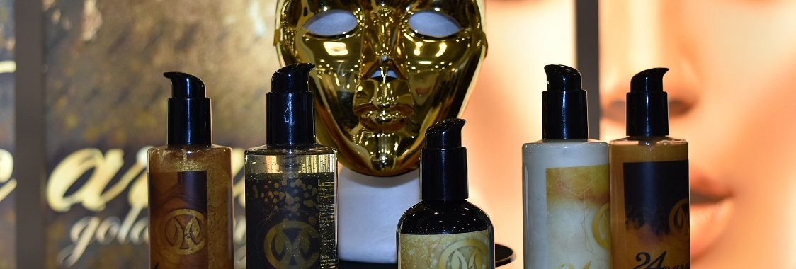 Gold range for skin care