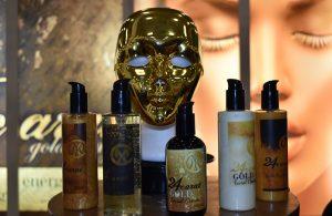 Gold range for skin care
