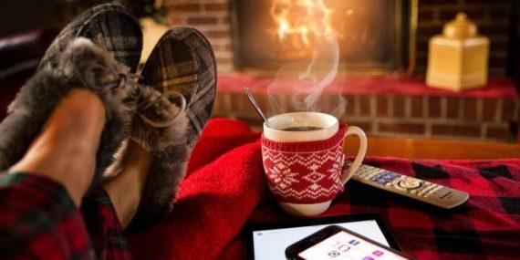 Winter diet - consume black chocolate