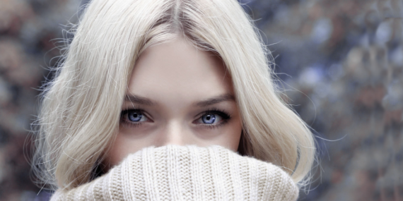 In winter hair should be carefully cared for.