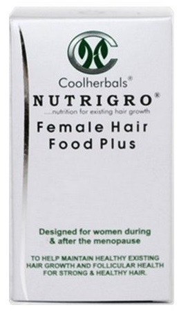 Winter season is making hair became dry and frizzy. Try Nutrigro Female Hair Food Plus