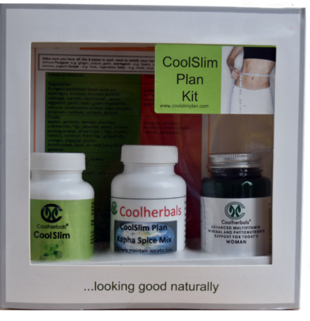 CoolSlim Plan Kit. A good way to lose weight and care for your health