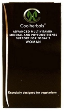 Hormonal Imbalance remedies. Coolherbals Advanced Vitamins, Minerals & Protein for Women